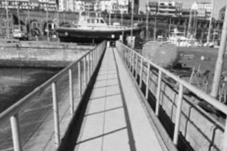 Walkway to Lifeboat Station - Case Study